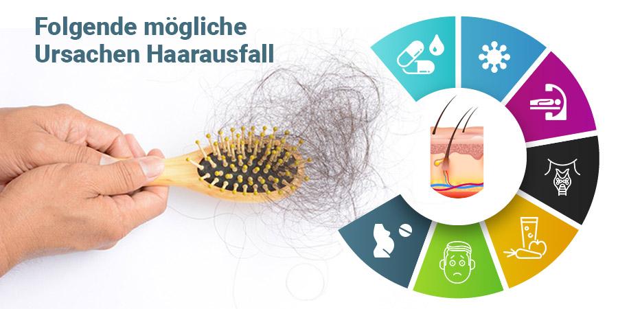 Ursachen Haarausfall